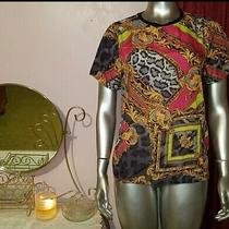 Forever 21 Hello Kitty Collection Exclusive Top Shirt Versace Theme Pink Gold  Photo