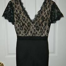 Forever 21 Juniors Black Lace Shorts Romper Jumpsuit S Small Photo