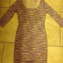 Forever 21 Knit Multi-Color Dress Size Small.  Missoni Look-a-Like Dress. Photo