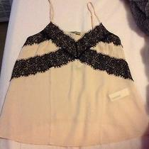 Forever 21 Lace Tank Top Medium Blush Pink New Sold Out Photo
