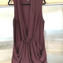 Forever 21 Long Vest Plum Purple Longline Pullover Sweataer Knit Plus Sz 2x Photo