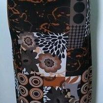 Forever 21 M Chevron Maxi Skirt New With No Tag  Photo