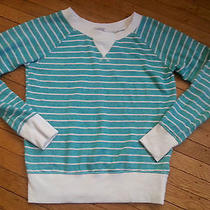 Forever 21 Madewell Chaser Splendid Striped Crew Sweatshirt M Photo