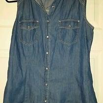 Forever 21 Madewell Denim Top Photo