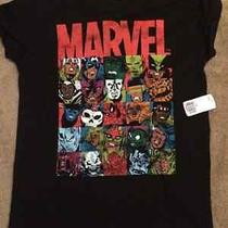 Forever 21 Marvel Comics Shirt Women's/juniors Medium New Photo