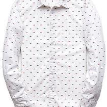 Forever 21 Men's Mustache Print Button Down Shirt Xs 100% Cotton Very Nice Euc Photo