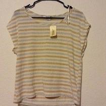 Forever 21 Metallic Stripe Tshirt Photo