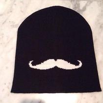 Forever 21 Mustache Beanie New Without Tag Sold Out Photo