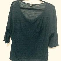 Forever 21 Navy Blouse Subtle Texture Great Condition No Reserve Photo