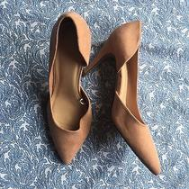 Forever 21 Nude Pink Blush Vegan Suede Pointed Heels Shoes Photo