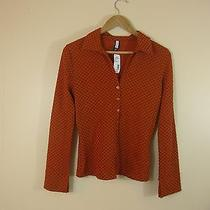 Forever 21 Orange Blouse Small Nwt Photo