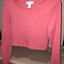Forever 21 Peach Crop Sweatshirt Photo