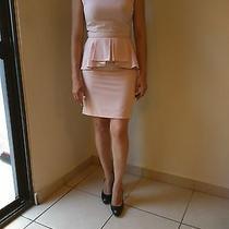 Forever 21 Peplum Dress Blush Size S Photo