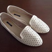 Forever 21 Perforated Faux Leather Loafers Blush Pink Size 10 Photo