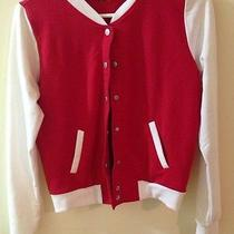 Forever 21 Red Varsity Jacket Photo