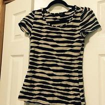 Forever 21 Striped Textured Puffy Sleeve Shirt Great Condition No Reserve Photo