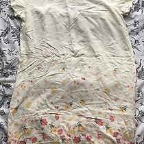 Forever 21 T Shirt Dress Floral Flowers Small Photo