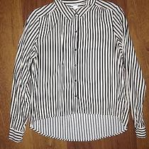 Forever 21 Verticle Striped Blouse  Photo