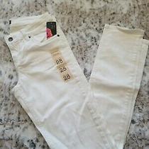 Forever 21 White Skinny Jeans Sz 28 Photo