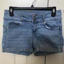 Forever 21 Womens Blue Jean Shorts Size Medium Photo