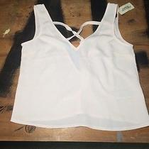 Forever 21 Woven Sleeveless Top Blush Photo