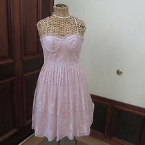Forever 21 Xx1 Blush Lace Bussier Strap Dress Small Photo