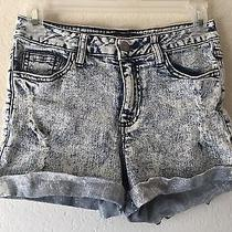 Forever 21 Xxi Acid Wash Grunge Shorts Size 25 Photo