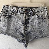 Forever 21 Xxi Acid Wash Grunge Shorts Size 28 Photo