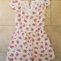 Forever 21 Xxi Small S Romper Pockets Tank One Piece Shorts Cover Up Jumpsuit  Photo