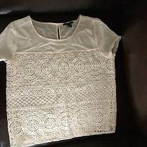 Forever21 Cream Lace Blouse Photo