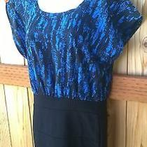 Forever21 Dress - Black and Blue - Medium - Free Shipping Photo