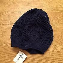Forever21 Knit Beanie (Navy) Photo