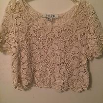 Forever21 Lace Crop Top Photo