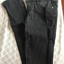 Forever21 Size 24 Skinny Jeans Black Photo