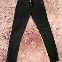 Forever21 Skinny Black Jeans Size 25 Photo