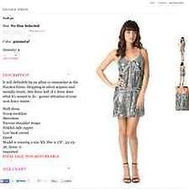 Formal Short Parker Sequin Dress Size S  Photo