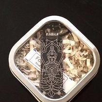 Fortune Keeper New Black Buddah With Swarovski Crystal Necklace Made in Usa Photo