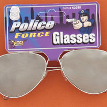 Forum Novelties Inc 31146 Police Mirrored Sunglasses Photo