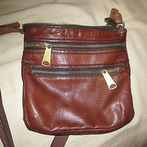Fossel Crossover Leather Bag  Photo