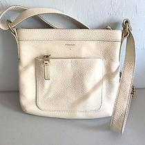 Fossil 128 Pebbled Leather Front Pouch Modern Crossbody Shoulder Bag Purse Photo
