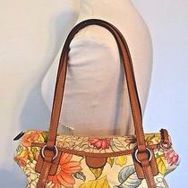 Fossil 1954 Floral Shoulder Bag Purse 75082 Photo