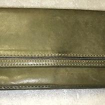 Fossil 1954 Leather Green Organizer Wallet Sl8438 Photo