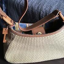 Fossil 75082 Straw Bag W/wood Key  Photo