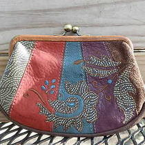 Fossil a Few of My Favorite Things Kiss Lock Coin Bag Purse Photo