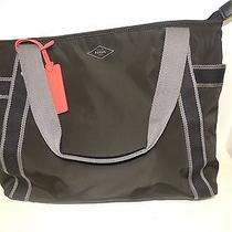 Fossil Abbott Tote in Black Nwt Photo