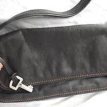 Fossil All Leather With Stitches Details Handbag Purse Photo
