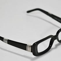 Fossil Amanda Eyeware Black Plastic Flex Hinge Rx Eyeglass Sunglass Frame Photo