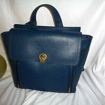 Fossil Amelia Backpack Shoulder Handbag 3 Way Bag Twilight Leather Zb77884987 Photo