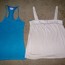 Fossil/american Eagle Tank/top Women's Small (Lot of 2) Photo