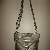 Fossil Antique Gold Leather Shoulder Bag  Photo